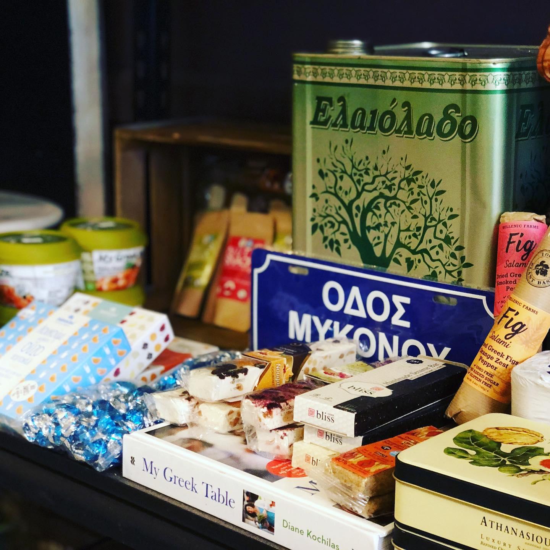 greektown detroit market snacks